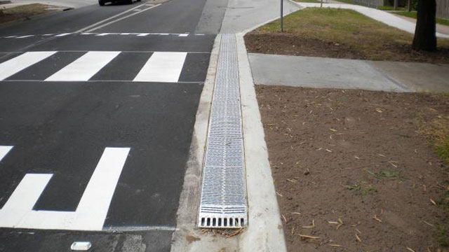 Mornington Peninsula Shire Council Kerb Drainage Grate