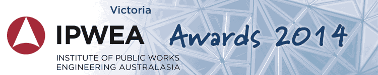 IPWEA Victoria Awards 2014 logo