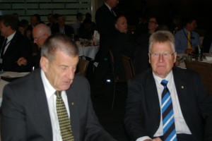 Jeff Kennett and Brian Negus RACV